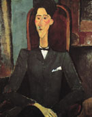 Portrait of Jean Cocteau 1916 - Amedeo Modigliani
