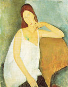 Portrait of Jeanne Hebuterne 1918 - Amedeo Modigliani