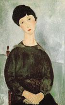 Young Girl 1918 - Amedeo Modigliani