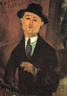 Paul Guillaume Novo Pilota 1915 - Amedeo Modigliani