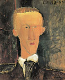 Portrait of Blaise Cendrars 1917 - Amedeo Modigliani