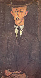 Man in a Hat 1916 - Amedeo Modigliani