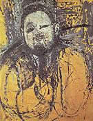 Preliminary Study for the Protrait of Diego Rivera 1914 - Amedeo Modigliani
