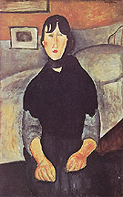 The Country Girl 1919 - Amedeo Modigliani