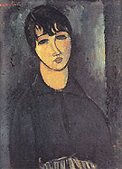 The Servant 1916 - Amedeo Modigliani