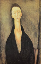 Madame Zborowska 1918 - Amedeo Modigliani