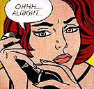 Ohhh Alright - Roy Lichtenstein