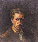 Self Portrait II c1945 - Franz Kline