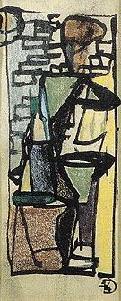 Study for The Dancer 1946 - Franz Kline