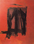 Red Painting 1961 - Franz Kline