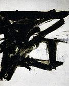 Untitled 1954 - Franz Kline