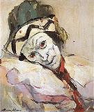 Nijinsky as Petrouchika c1948 - Franz Kline