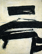Black and White 1951 - Franz Kline