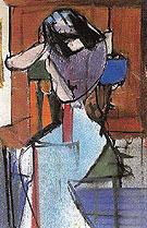 Seated Figure Elizabeth 1948 - Franz Kline