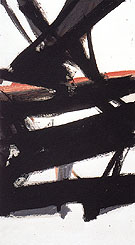 Horizontal Rust 1960 - Franz Kline