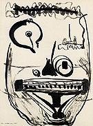 Untitled 6 1945 - Barnett Newman