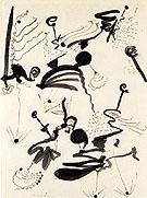 Untitled 7 1945 - Barnett Newman