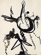 Untitled 8 1945 - Barnett Newman