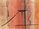 Untitled 10 1945 - Barnett Newman