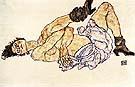 Reclining Female nude 1914 - Egon Schiele