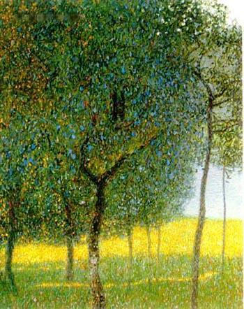 Gustav Klimt - Fruit Tree by the Lake
