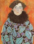 Portrait of Johanna Staude 1917 - Gustav Klimt