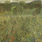 Garden Landscape 1917 - Gustav Klimt