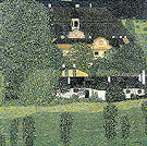 Schloss Kammer on the Attersee II 1909 - Gustav Klimt