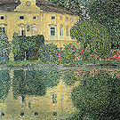 Schloss Kammer on the Attersee IV 1910 - Gustav Klimt