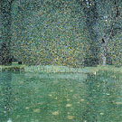 Pond at Schloss Kammer on the Attersee 1909 - Gustav Klimt