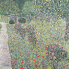Orchard with Roses 1912 - Gustav Klimt