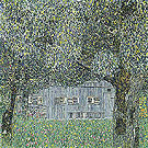 Farmhouse in Upper Austria 1911 - Gustav Klimt