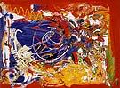 One Afternoon 1955 - Hans Hofmann