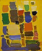Jeweld Yellow 1957 - Hans Hofmann