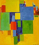 Auxerre France St Etiennes Glorious Light 1960 - Hans Hofmann