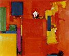 The Golden Wall 1961 - Hans Hofmann