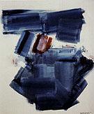 Blue Monolith 1961 - Hans Hofmann