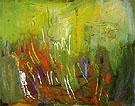 First Sprouting 1961 - Hans Hofmann