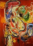 Bacchanale - Hans Hofmann