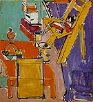 The Artist Version II 1942 - Hans Hofmann