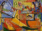 Still Life with Book - Hans Hofmann