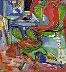 The Wicker Chair Version II 1942 - Hans Hofmann