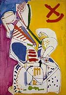 Abstraction B 1947 - Hans Hofmann