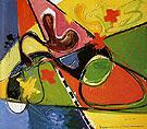 Submerged 1947 - Hans Hofmann