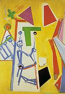 Yellow Space 1949 - Hans Hofmann