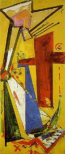 Sketch Chimbote Mosaic Cross 1950 - Hans Hofmann