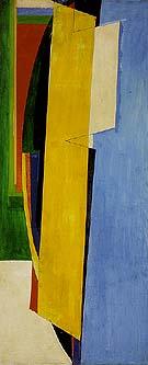 Chimbote Mural Fragment of Part I 1950 - Hans Hofmann