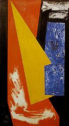 Setch for Chimbote Mural Fragment 1950 - Hans Hofmann