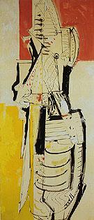 Chimbote Mural 1950 - Hans Hofmann