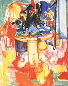 Table with Fruit and Coffeepot 1936 - Hans Hofmann